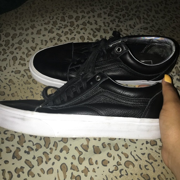 5a958dcc9be038 Vans Shoes - Old Skool (Hologram) Black and White  Leather